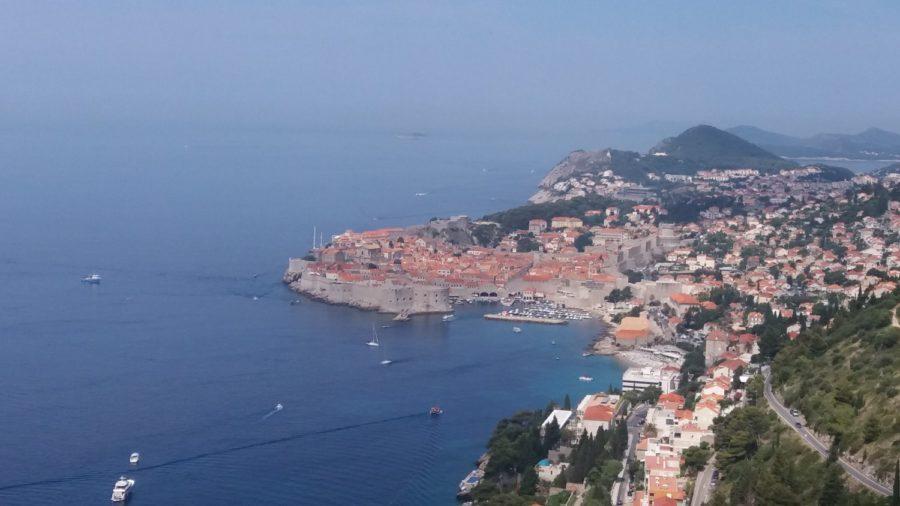Vue sur Dubrovnik - Croatie