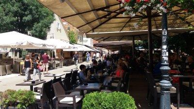 La rue Kaptol - Zagreb