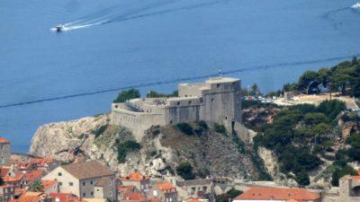 La forteresse de Bokar - Dubrovnik (Croatie)