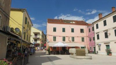 Place de Skradin - Croatie