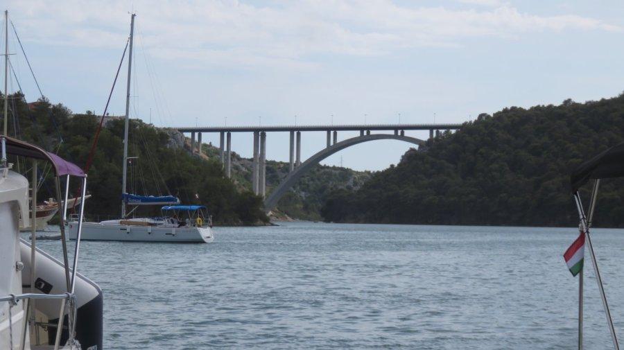 Pont sur la rivière Krka - Skradin (Croatie)