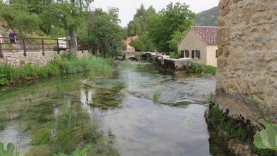 Dans le parc de Krka - Croatie