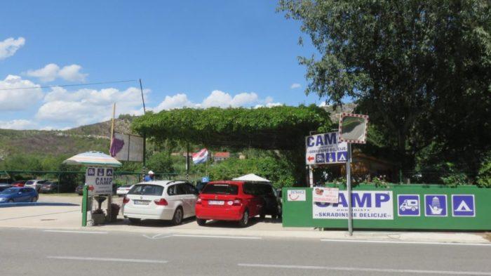 Au Camping de Skradin - Croatie