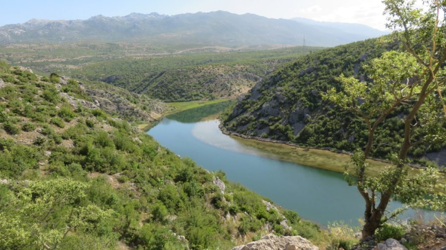 La rivière Zrmanja - Croatie