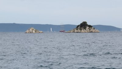 La baie de Trogir