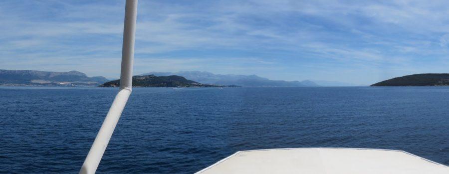 En bateau pour Split depuis Trogir