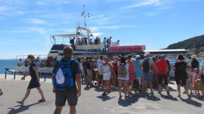 Retour sur le quai de Split
