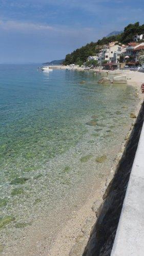 Le long de la plage de Zaostrog - Croatie