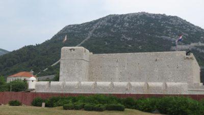 La forteresse de Ston - Croatie