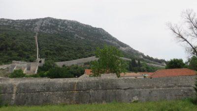 La grande muraille de Ston - Croatie