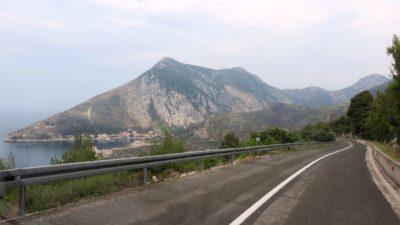 Sur la route d'Orebic - Croatie