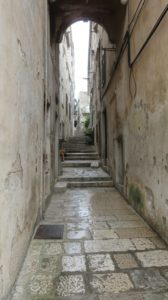 Dans les ruelles de Korcula - Croatie