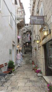 Les ruelles de Korcula - Croatie