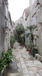 Les ruelles d'Orebic - Croatie