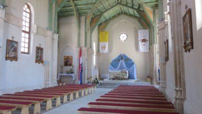 L'église de Ston - Croatie