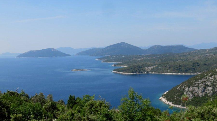 Bord de mer splendide entre Doli et Orasac - Croatie