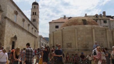 La fontaine d'Onofrio - Dubrovnik