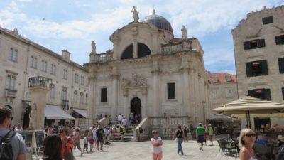 L'église St Blaise - Dubrovnik