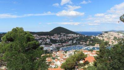 Vue sur Dubrovnik