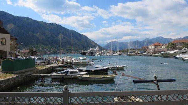 Le port de Kotor - Monténégro