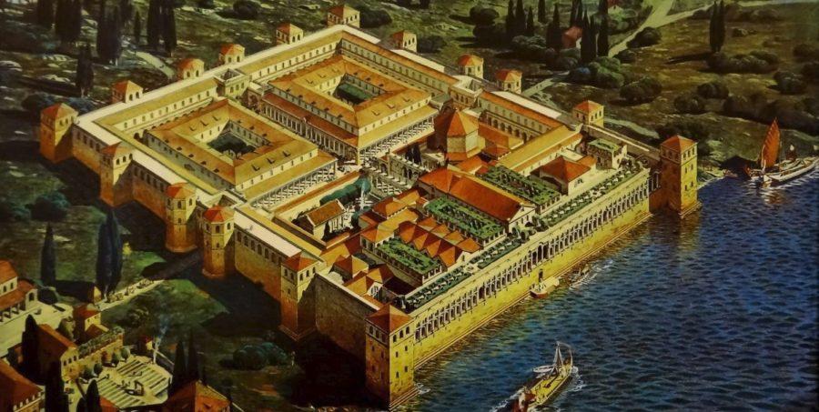 Le palais de Dioclétien - Split