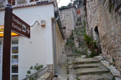 Vers la forteresse de Skradin - Croatie
