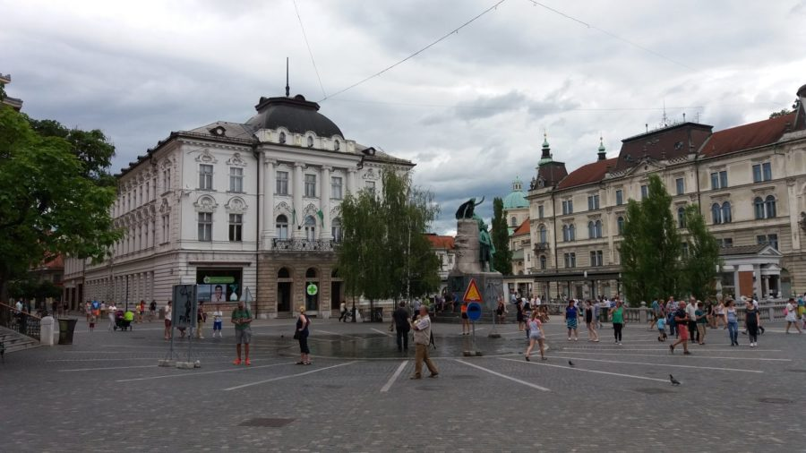 Preseren Square - Ljubljana (Slovénie)