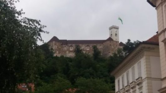 Le château de Ljubljana - Slovénie