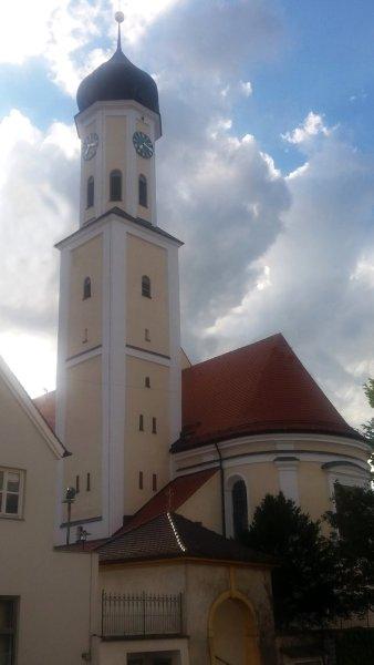 L'église de Zusmarshausen - Allemagne