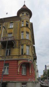Vieil immeuble de Ljubljana