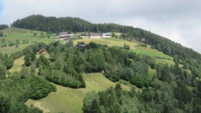 La belle campagne vallonnée autrichienne