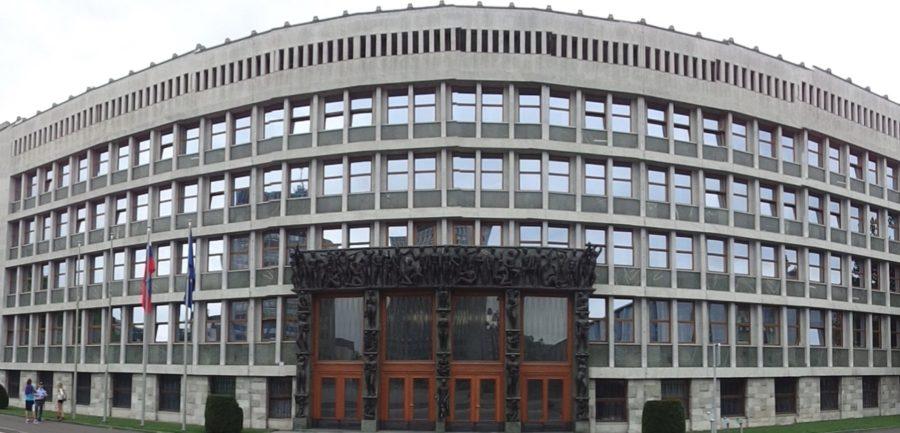 Le parlement de Ljubljana - Slovénie
