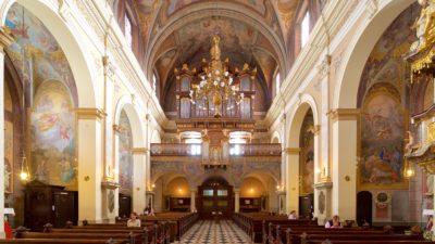 l'église franciscaine de l'Annonciation - Ljubljana (Slovénie)