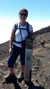 A 20mn du sommet du cratère Dolomieu