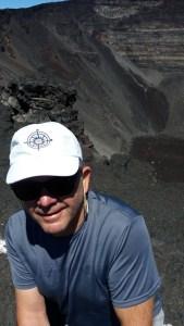 Nous voilà au sommet du Piton de la Fournaise