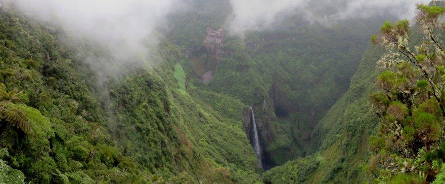 La cascade du Trou de Fer (Réunion)