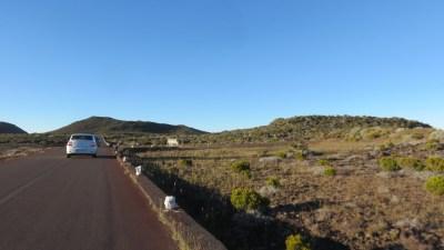La route vers le Pas de Bellecombe - Réunion