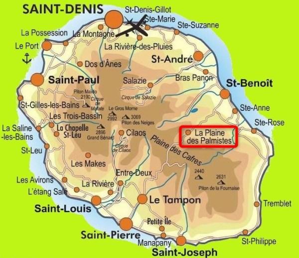 La Plaine des Palmistes (Réunion)