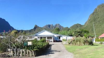 Vue jolie maison depuis la route vers le col des boeufs - Réunion