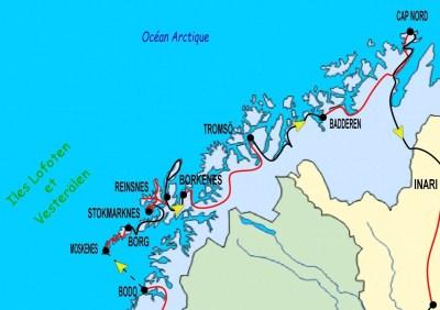 4ème partie Bodo - îles Lofoten - Cap Nord