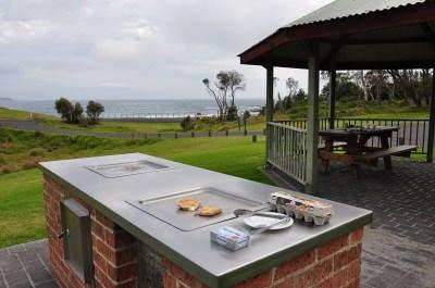 BBQ public en Australie