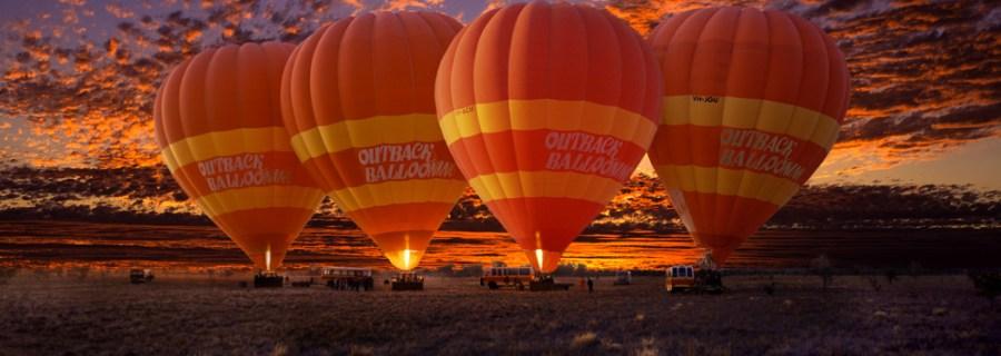 Montgolfières à Alice Springs - Australie