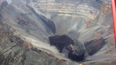Le cratère Dolomieu - Piton de la Fournaise
