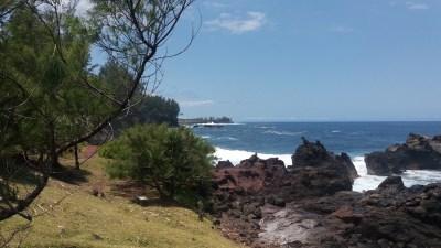 La côte de Manapany les Bains - Réunion