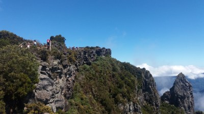 Vue sur le cirque de Mafate depuis le Piton Maïdo - Réunion