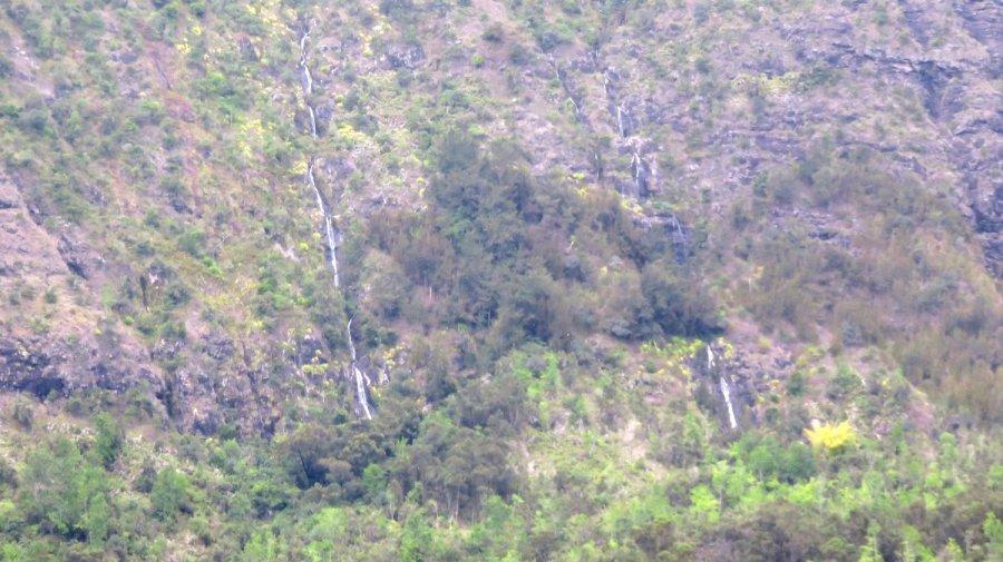 Cascades du cirque de Cilaos - îlet à Cordes