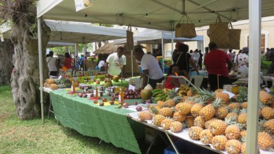Le marché de St Paul - Réunion
