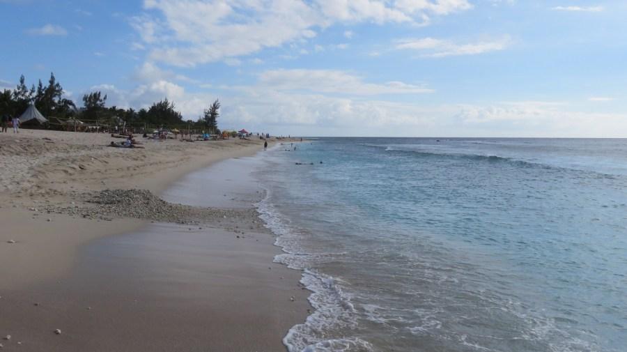 La plage de St Gilles les Bains - Réunion