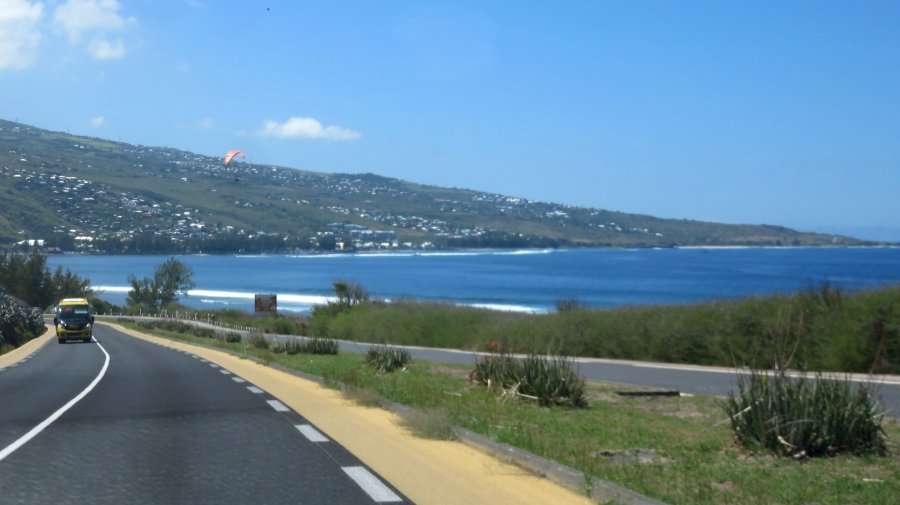 Sur la route du Cap La Houssaye - Réunion