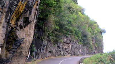 La route vers Les Makes - Réunion